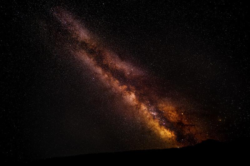 Idaho Milky way at Stanley Lake