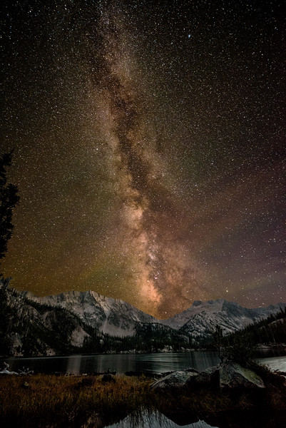 Milky-way Imogene Lake Sawtooths