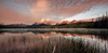 Little Redfish Lake in the Sawtooth mountains of Idaho at sunrise
