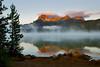 Sunrise on Redfish Lake Idaho