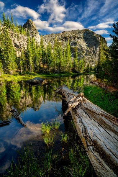 Sheep Lake reflection Seven Devils
