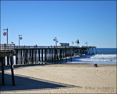 pismo; pier; beach; sand; water; ocean; California