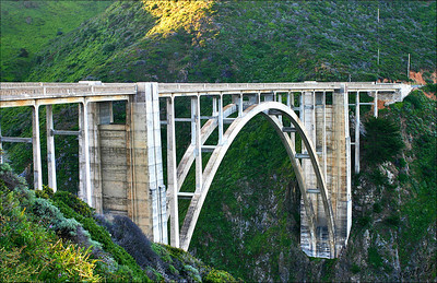 Bixby Bridge  Big Sur, CA. Built in 1932