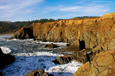 Rugged Oregon Coastline
