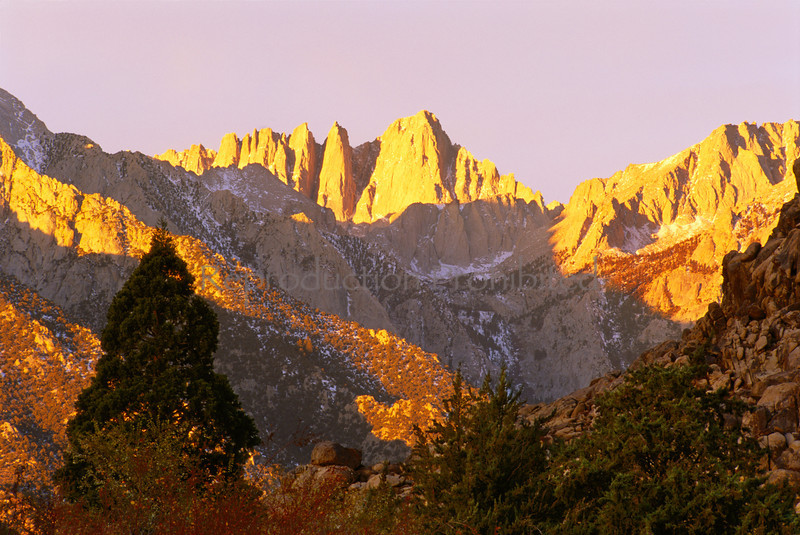 Golden Dawn Mt. Whitney, CA