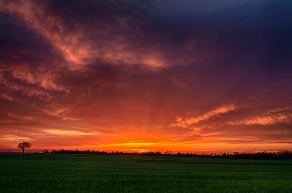Back Roads Sunset