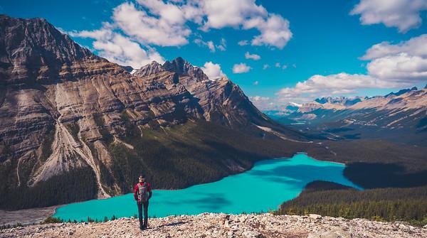 Peyto Lake, Banff CA