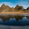 Eystrahorn Morning Reflection