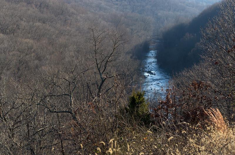 Patapsco River in December