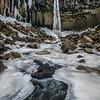 Svartifoss And Ice