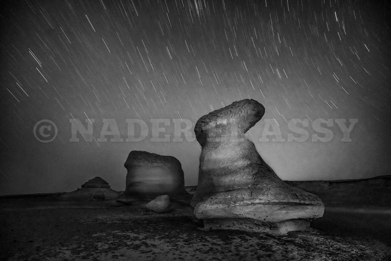 The Desert Rocks and Stars