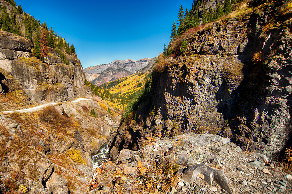 Fall Colors on Yankee Boy Basin 2014 - Landscape