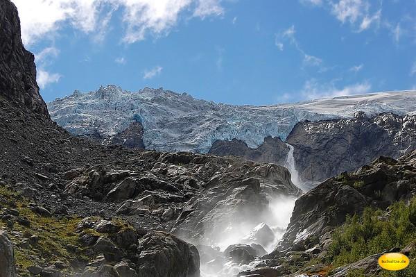 Buarbreen Glacier, Hordaland, Norway