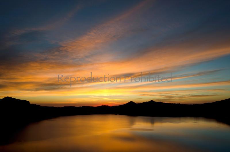 Sunset Heaven Crater Lake National Park, OR. September 2012