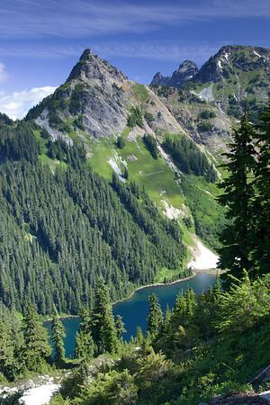 Mt. Alaska with Joe Lake below