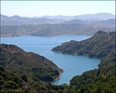 Lake Casitas in Ventura County CA.