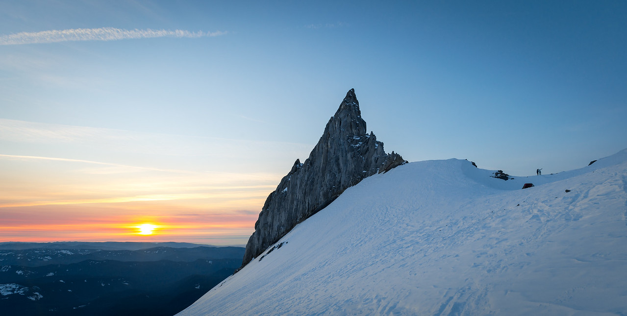 Sunset on the Illumination Saddle
