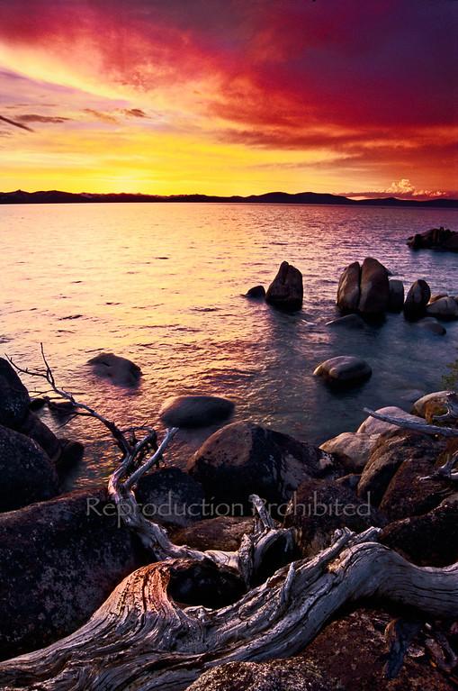 Last Light Lake Tahoe, CA