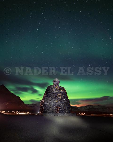 Arnarstapi and Northern Lights