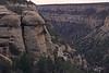 Mesa Verde sandstone cliffs