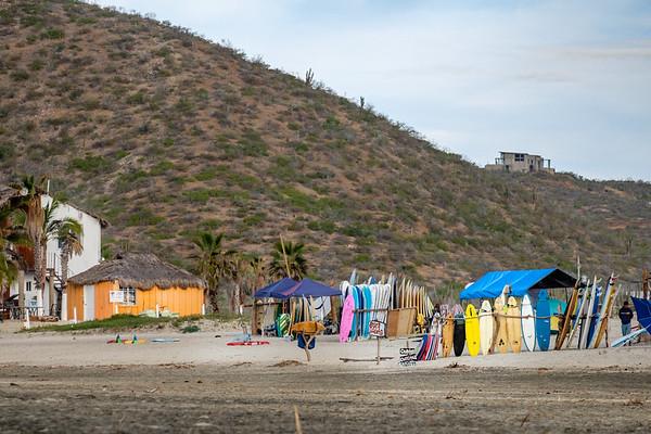 Cerritos surf shack.
