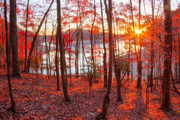 Summersville lake, WV taken on 10-15-12
