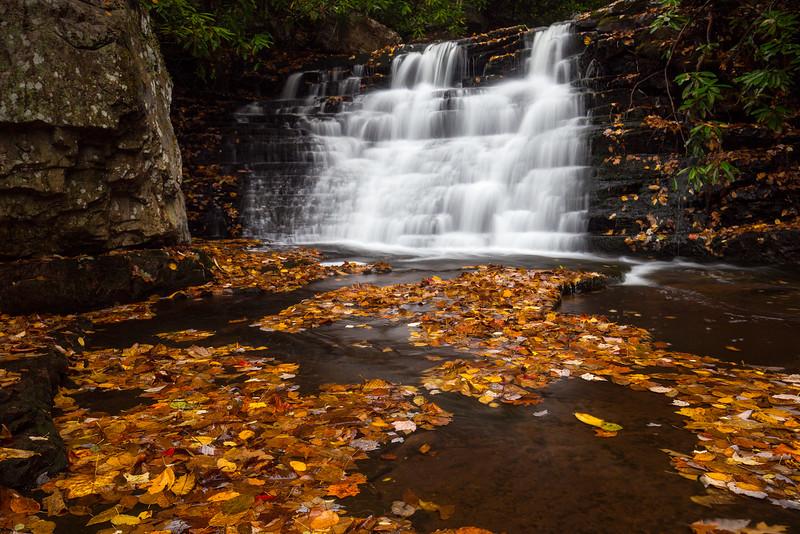 Waterfall on Mill Creek. Narrows, VA