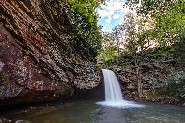 Waterfall on Little Stony, VA