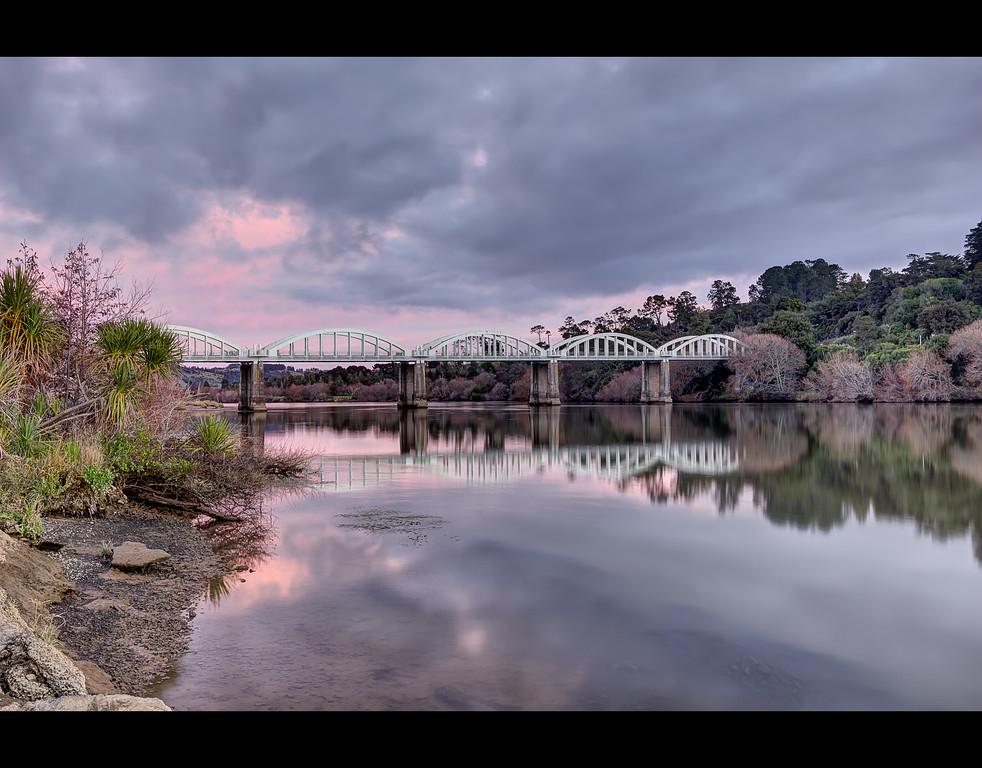 Tuakau Bridge - Color