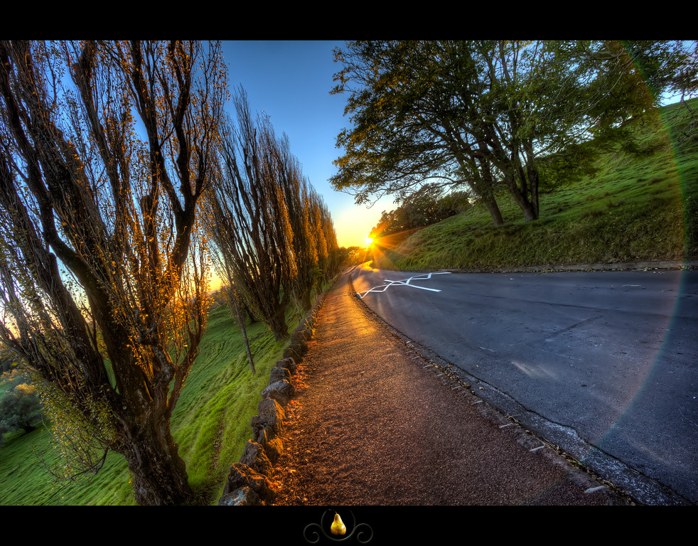 Suns Path: Little known fact, the path to the sun actually has a a two lane road with speed bumps along side it.