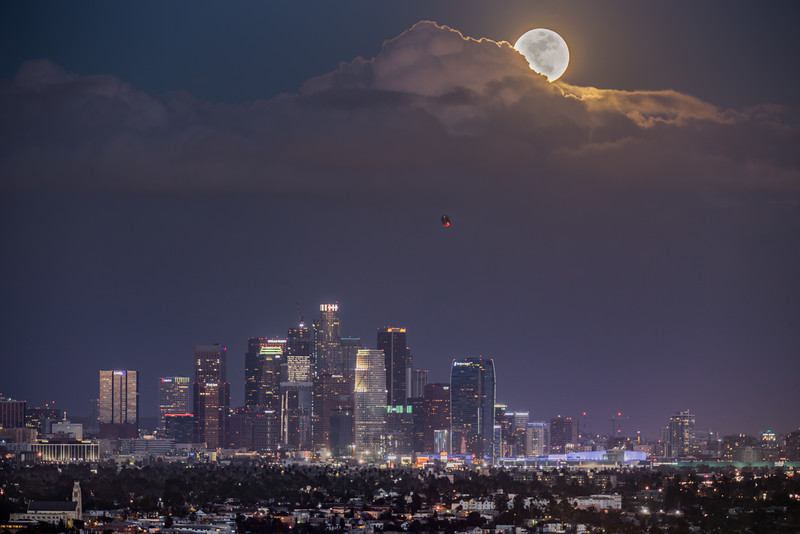Full Moon over LA
