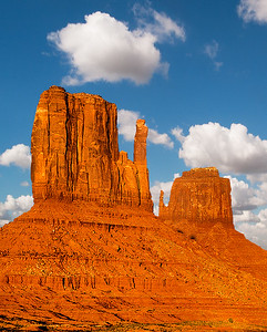 """Mitten Buttes in Late Afternoon"""