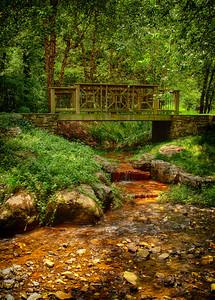 """""""Quiet Brook and Footbridge"""""""
