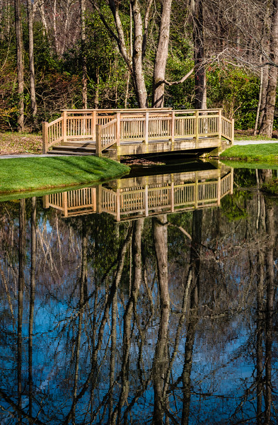 """""""Garden Footbridge"""""""