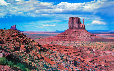 """""""Gathering Storm and West Mitten Butte"""""""