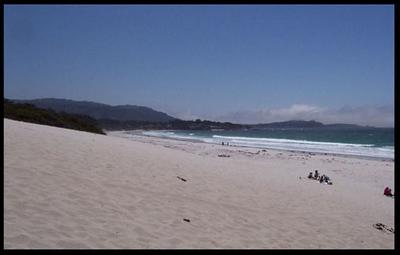 Beach at Carmel, Ca
