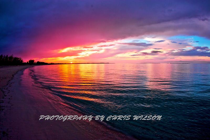 Bahamas Sunset HDR 2
