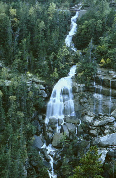 Alaskan Waterfall, 1999<br /> Film Photography