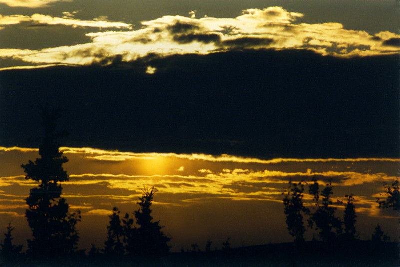 Sunset, 2002<br /> Film Photography
