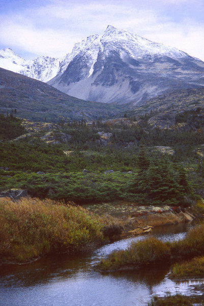 Alaskan Landscape, 2000<br /> Film Photography