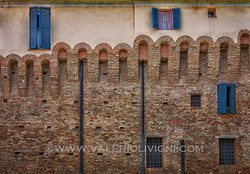 Jesi city walls
