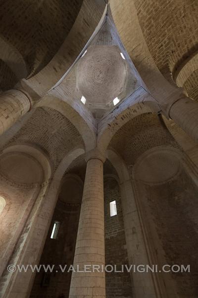 Abbey San Vittore delle Chiuse in Genga