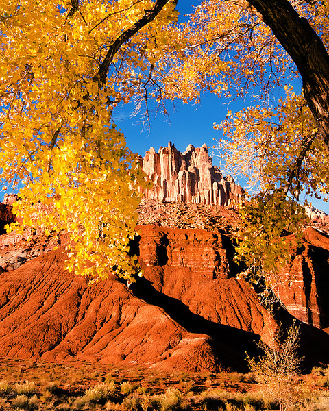 Castle Rock at Capitol Reef