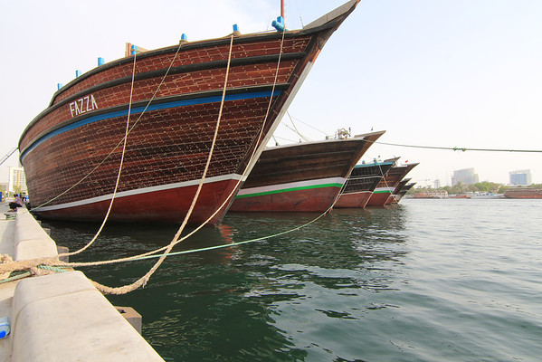 Dubai Creek Dhows