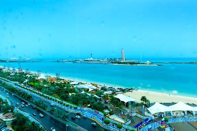2016_04_01, Sunset at Bel Gheilam Tower, Abu Dhabi