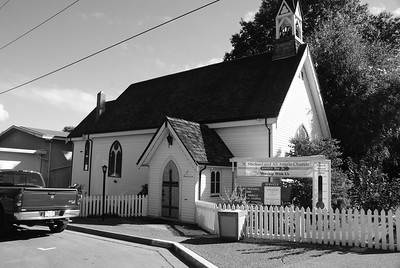 Old Church, Chemainus, BC, Canada