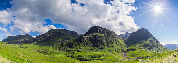 "The ""Three Sisters"" of Glen Coe"