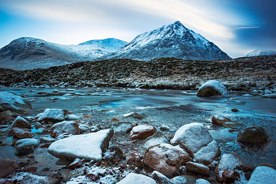 Creise and Meall a' Bhuiridh Mountains at Glencoe