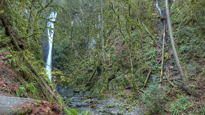 Goldstream Park Waterfall