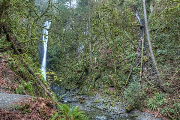 Goldstream Park Waterfall - Victoria, British Columbia, Canada